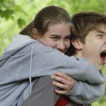 Teenage girl and boy