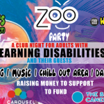 flier for zoo party