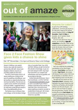 Amaze newsletter cover
