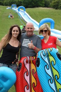 heart fm at water slide