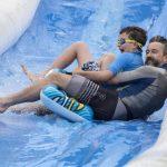 Amazing water slide