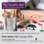 Renaissance Legal artwork competition flyer