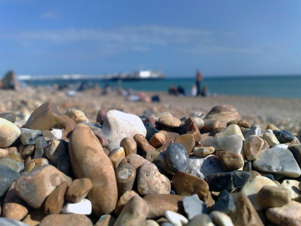 pebbles on brighton beach