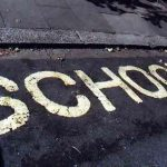 school road markings