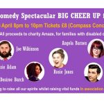 Online Comedy Spectacular BIG CHEER UP for Amaze!
